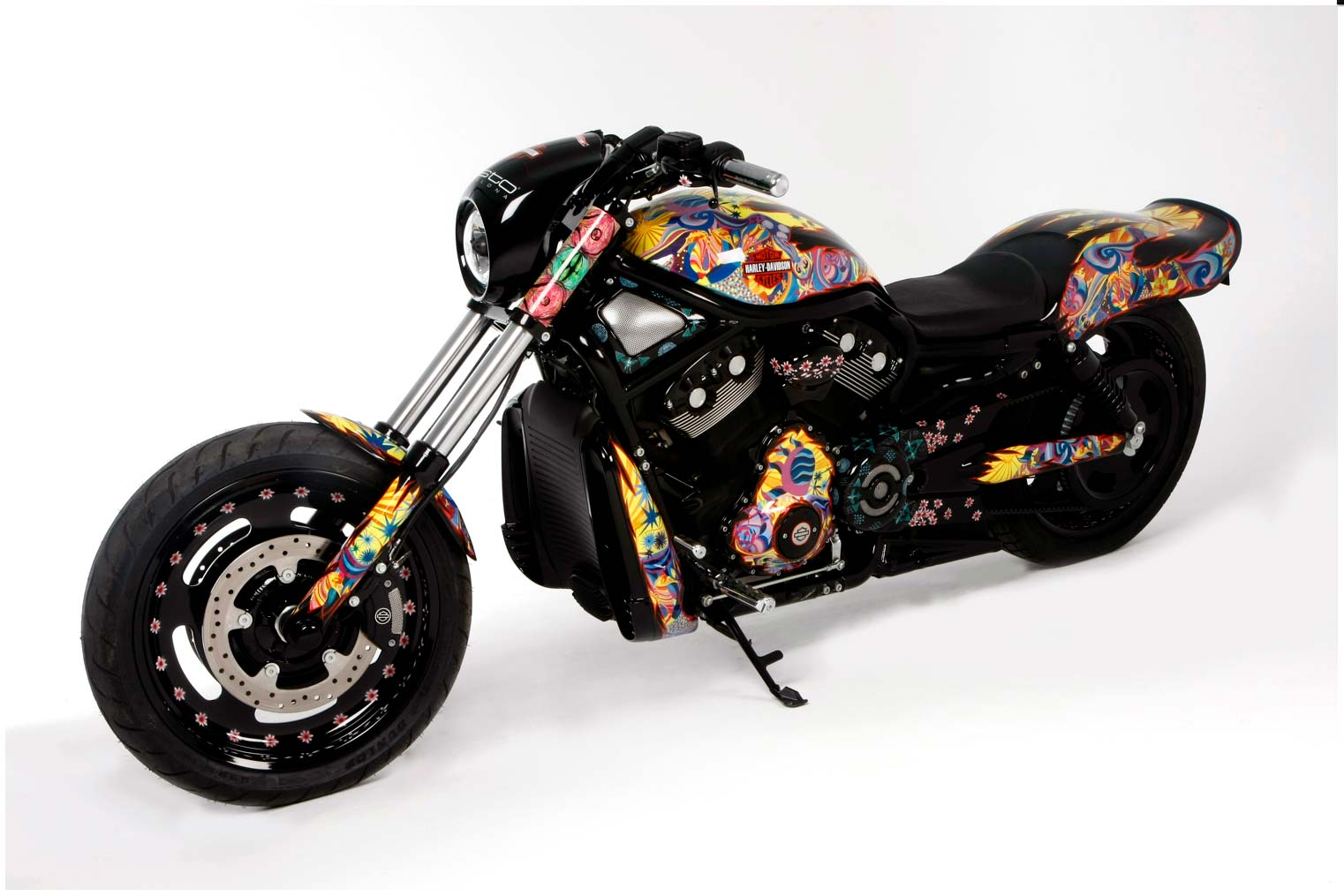 Harley-Davidson para Custo Barcelona
